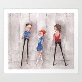 Kind of Friends Art Print