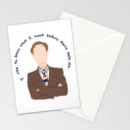 Niles Crane Stationery Cards