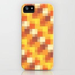 Sunset Pixels iPhone Case