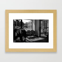 Pizza on Bloor Framed Art Print