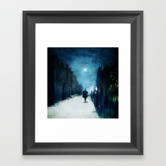Voice Of Lights Framed Art Print