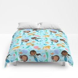 Cute Mermaids Comforters