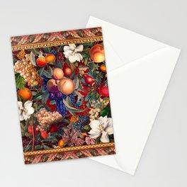 Vintage Fruit Pattern VII Stationery Cards