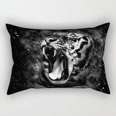 Tiger Head Wildlife Rectangular Pillow