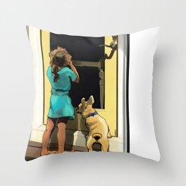 Francescan Summer Throw Pillow