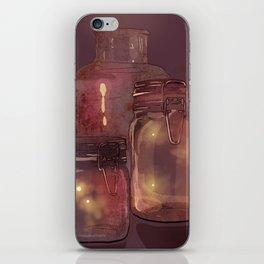 Flickering Stars iPhone Skin