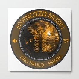 Hypnotzd Disco Metal Print