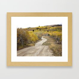 Path of Least Resistance Framed Art Print