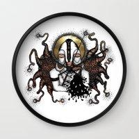 bali Wall Clocks featuring BALI ELEPHANT by ISSO