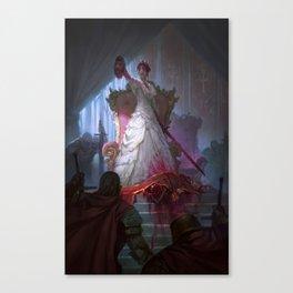 The Murder Queen Canvas Print