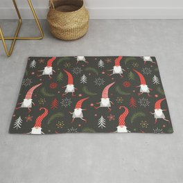 Cute Christmas Elves Rug