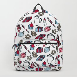 Xmas Stuff – White Backpack