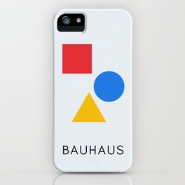 Bauhaus - Geometric Art iPhone Case