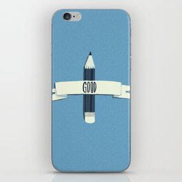 Lucky pencil iPhone Skin