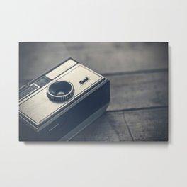 Vintage Camera 4 Metal Print