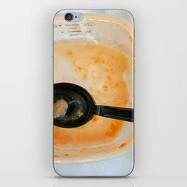 Tomato soup iPhone Skin