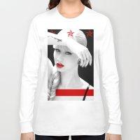 iggy azalea Long Sleeve T-shirts featuring Iggy Azalea Bahaus by infinitelydan