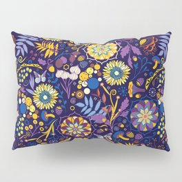 Ripe autumn – purple and yellow Pillow Sham