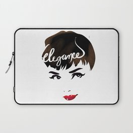 Bombshell Series: Elegance - Audrey Hepburn Laptop Sleeve