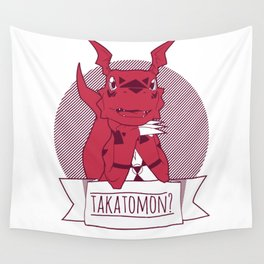 Takatomon Wall Tapestry