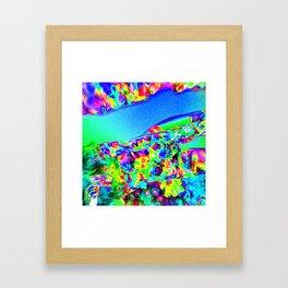 Lighting Experiment 42 Framed Art Print