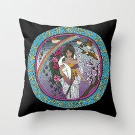 Seimei Throw Pillow