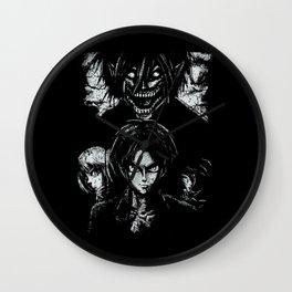 Attack on Grunge Titan Wall Clock