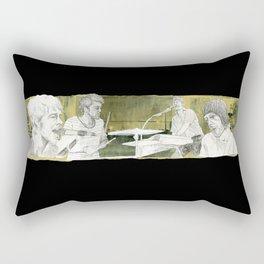 Cold War Kids Rectangular Pillow