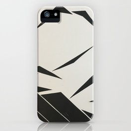 When Mountains Move - B iPhone Case