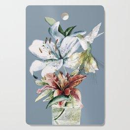 Hummingbird with Flowers Cutting Board