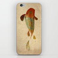 koi iPhone & iPod Skins featuring Mystic Koi by Fernando Vieira