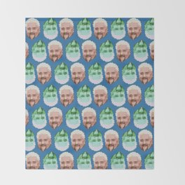 Guy Fieri Repeated Pattern Throw Blanket