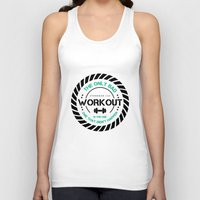 workout Tank Tops featuring The Workout by STRONGER.COM STORE