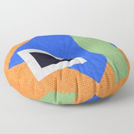 Geometric Pattern colors Floor Pillow