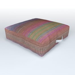 Woven Wonders Multi Outdoor Floor Cushion