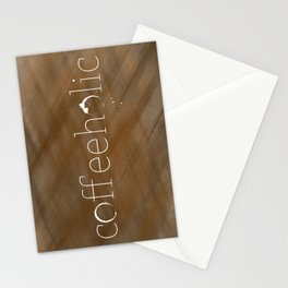 Coffeeholic Stationery Cards