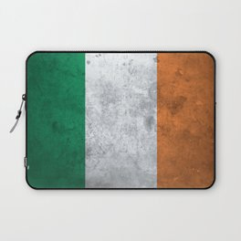 Distressed Irish Flag Laptop Sleeve