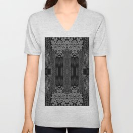 Optical Illusion Unisex V-Neck