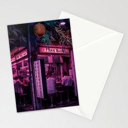 Ramen Corner in Tokyo Stationery Cards