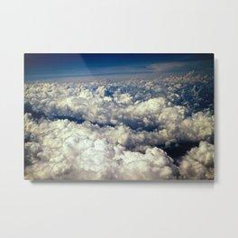 Mountainous Clouds Metal Print