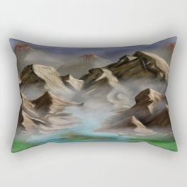 Dangerous Past Rectangular Pillow