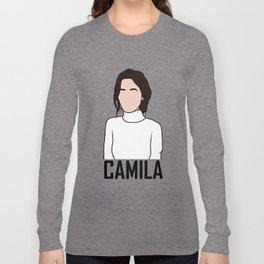Camila Cabello Long Sleeve T-shirt