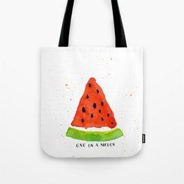 One in a melon Tote Bag