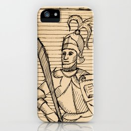 Knight of Knowledge iPhone Case