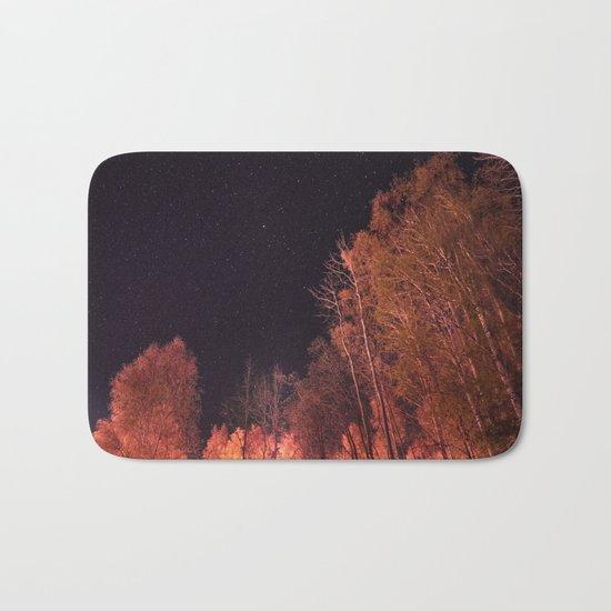 Firey woods Bath Mat