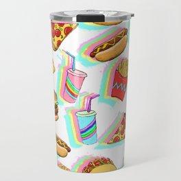 Rainbow Fast Food Travel Mug