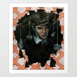 Oh, Johnny Andrews Art Print