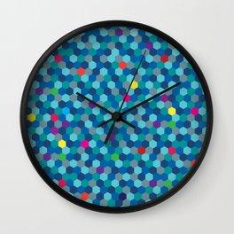 Octablue. Wall Clock