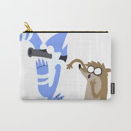 Mordecai and Rigby  Carry-All Pouch