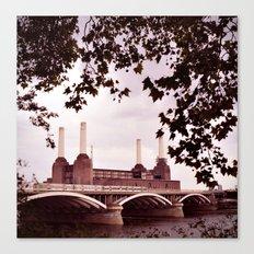 Pink Floyd Animal Canvas Print